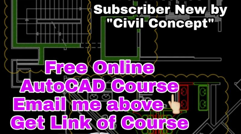 Free Online AutoCAD Course in English