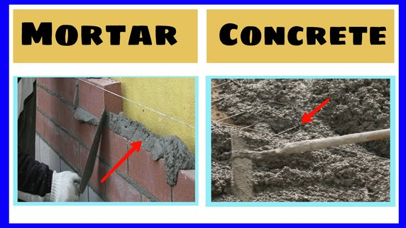 difference-between-mortar-and-concrete